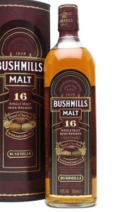 Bushmills 16 Year Old / 3 Wood